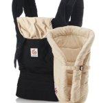 Ergobaby EBBCII6CA Babytrage Carrier Von-Geburt-An Paket, Black/Camel